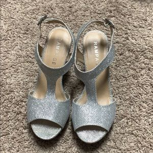 Silver Rampage Wedges